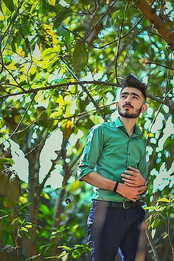 Innocence and arrogance entwined . . . . #kartavyamakwana #fashion #fashionmodel #formals #greenshirt #blogpost #blogger #indianblogger #suratblogger #suratinfluencer #menswear #menstyling #hairstylesformen #style #trend #fashionpost #fashionista #influencer #ootd #menfashionpost #combination #malemodel #instastyle #instagram #potraits #leaf