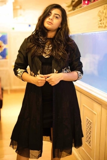 NamaSlay The Blog : All Black Everything | Chandni Sahi Upcoming story on our blog! Check here: http://bit.ly/2iHNT9g  #NamaSlayTheBlog #fashionblogger  #fashion #indianblogger #streetstyle #mumbai #summer #summerstyle #dressy #blackdress #classy #party #indian #indowestern #indowesternlook #datelook #accessorise #silveraccessories #chandnisahi #hairdramaco #silvernecklace #party #date #datenight #dateready #pinklipstick #daytonight #natural-look #photoshootdiaries #fashionphotography #roposo #stylingideas #roposostylefiles #mumbaifashionblogger #mumbai #whatiwore #soroposolove #hashtaggameon #thevisionaries #fun #mystylemantra #rocknshop #summerfashion #photography #streetstyle #picoftheday #model #fashiondiaries  #followme #designer #love #summer #ropo-love #summer-style #roposo #roposolove #swag  #stylingtips #indowesternwear