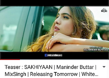 Hey guys .. so here's the TEASER Of SAKHIYAAN ♥️♥️ https://www.youtube.com/watch?v=8hkSbA1WEzQ Must watch | LIKE | SHARE | COMMENT  Need your Blessings,Lots of Love and Support 🙏🙏🙏 : #sakhiyaan #sakhiyaanteaser #teaser #newsong #punjabisong #pollywood #releasingtomorrow #newpunjabisong #whitehillmusic #maninderbuttar #lovesongs #instantpollywood #ptcpunjabi #ptc #teampollywood #mustwatch #share #support #showyourlove #keepsupporting #nehamalik #model #actor #blogger #instalike #instafollow
