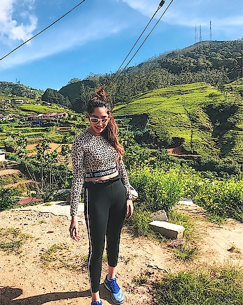 NEW VLOG ALERT- https://youtu.be/6t9xyE7kABg Have you been to Nuwara Eliya? Have you even been to Sri Lanka? Well, I would say you have missed out on a lot but then I have my Sri Lanka Vlog (Part one) now up on my YT Channel and trust me you don't want to miss some crazy firsts we had💁🏻♀️ From climbing right to the top of the Sigriya rock, to waking up to panoramic views in the hill to literally hanging out of a train for three hours. The hills of Sri Lanka gave us memories of a life time. Did I miss mentioning the gorgeous cottage we stayed at in the coldest place in Sri Lanka and how we froze standing right under a huge waterfall.  Well I've said enough! Go Watch the Vlog NOW😬 https://youtu.be/6t9xyE7kABg