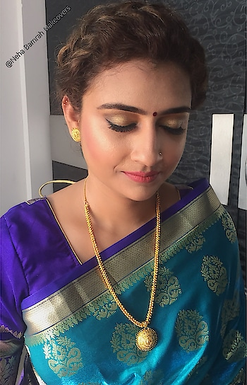 #NehaBamrahMakeovers Dolled Up this Beauty by creating this Soft,Subtle and Elegant look on her Engagement day that enhanced her beauty and features..just proved Less is more to be a new trend to look out Stunning😍❤️#MakeupandHair#Beautifulbrides #NehaBamrahMakeovers  *To Make your Booking's contact us  📞9819887179  *check and hit a like on the page linked below for more details and updates  https://www.facebook.com/Makeover-By-Neha-Bamrah-918367641547392/