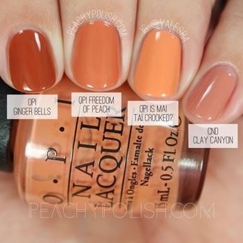 OPI nail paints #nail-addict #nailcolor #opi