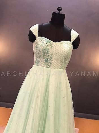 ~THALASSA~ #archithanarayanamofficial #thalassa #gowns #stylish #flowy #classy #embellished #fdci #vogue #elle #2018