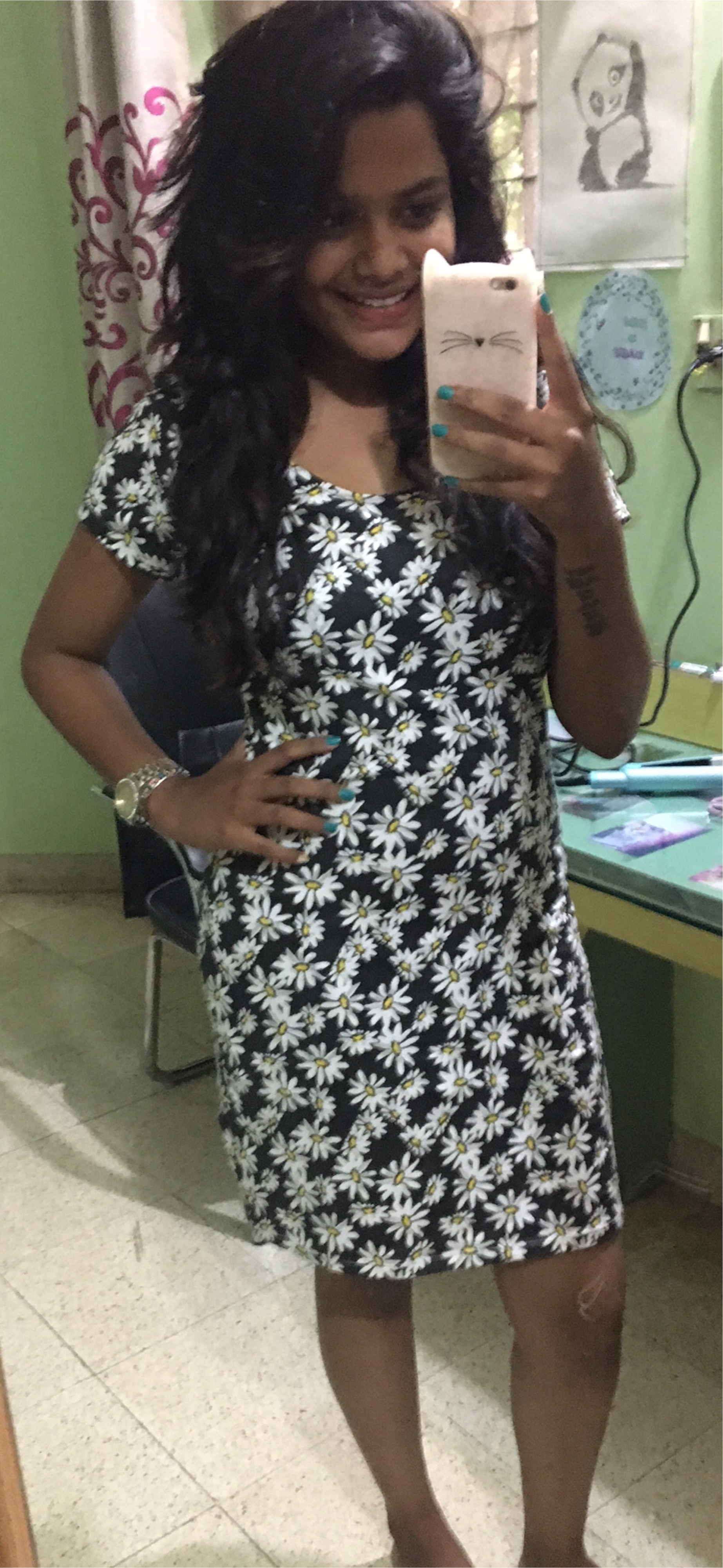 Floral dresses are love❤️🌺