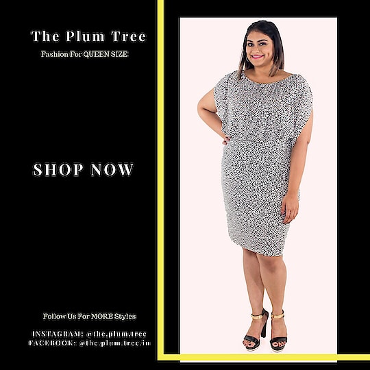 When in doubt,go for a polka dot!  Sizes Available: XL-3XL Message or Comment below for orders.  #dress #bigsize #partywear #partydress #eveningwear #plussize #queensize #curve #shop #dresses #xl #xxl #plussizefashion #plussizeclothing #plussizes #plussizedress #western-dress #dress-up #fashion #stayinvogue #styles #ropo-style #prettyfashion