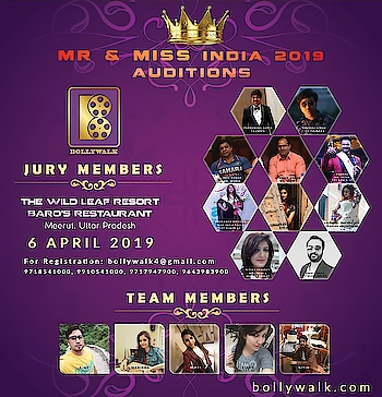 Happy to announce that I am one of jury member in Mr and Miss India auditions that is going to happen on 6 th April in Meerut @wildleafresort in association with @bollywalkindia @bollywalk25. Grand Finale is in Goa and schedule will be shared soon. . #indianfashionblogger #delhifashionblogger #bigevent #auditions #contest #shiwangishrivastava #fashiontwistturns #pensitdown #2019auditions #goa #grandfinale