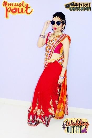 #traditionalwear❤ #sareeindia #jwellarylove #maangtikka😍 #kamarbandh❤ #nathani 😘 #readyforwedding #roposotalks #roposocontest #soroposo #roposome 💕 #mustpout #kaalachashma #weddingoutfit