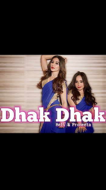 "We are back to raise your heart beats, This time with ""DHAK DHAK"" , Uploading on 19.06.2019 (Wednesday) 🌸 @heli_daruwala #proneetaswargiary #proneetavijay #proneeta #love #dance #dancer #artist #youtuber #roposo #roposofamily  #collaboration #media #positivity #positivevibes #dhakdhak #bollywood"