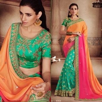 Multicoloured Crush Fabric And Jacquard Saree  Product code - FCS413 Available at www.fashionclozet.com  Watsapp - +91 9930777376 Email -  info@fashionclozet.com Or DM for enquiries. #indianwear #indianfashion #indianwedding #instagram #adorable #beautiful #bollywood #makeup #mumbai #indianstyle #desi #punjabisuits #indowestern #bridalsarees #designersaree #designerwear #saree #punjabiweddings  ##desibeautyblog #blogger #fashionblogger #weddingphotography #vancouverwedding #weddingphotographer #indianweddingbuzz #bridallehengas  #bridesmaids  #saree #sari