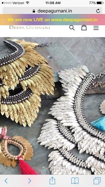 We are now LIVE on www.deepagurnani.in ❤❤❤ #deepagurnani #indiawebsite #fashion #style #statement #accessories #madeinindia #handmadeisluxury