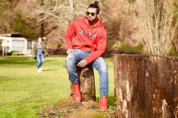 #longhairstyles#red#hotham#triptoremember✌️😎