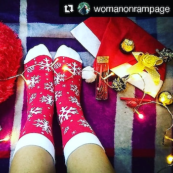 #Repost @womanonrampage (@get_repost) ・・・ Are you sock-ed to see these cute socks!? 😝😍 Still feels like Christmas in these snowflake socks from @supersox_india ❄❤ Winter in cozy socks #wintergoals 🤗 . . . . @plixxo @popxofashion  #plixxo #plixxoblogger #popxoblogger #popxofashion #plixxoinfluencer