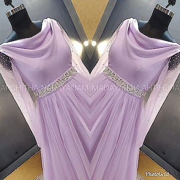 ~Thalassa ~ ~Simple but significant~ #archithanarayanamofficial #designer #designerlife #designerwear #art #indianart #inspiration #india #indiancouture #wedding #indianwedding #bride #bridetobe #creation #lavender #loveforlavender #trendy #trendsetter #glimmer #fusion #fashion #fashionlove #allaboutfashion #enrichment #embroidery #handembroidery #loveoflife