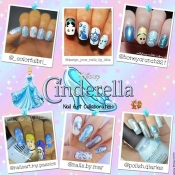 Disney Princess Collab 👑💍 Second week theme is 💙💠Cinderella💠💙 #TheNailArtGlamSquad #cinderellanailart #cinderellanailartcollaboration #disneystyle #designyournailsbyisha #bluemani #instanails #roposonails #roposolove #nailfashion #lifestyle #fashion #trend #2017nailart