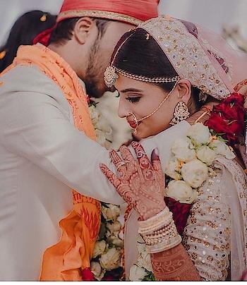 You're my today and all of my tomorrows...   . Photography Credits: The Royal Affair #wedding #beautifulbride #elegance #grace #weddingphotography #love #happiness #weddingasia #exhibition #2018trending #bangkok #newdelhi #ludhiana #chandigarh