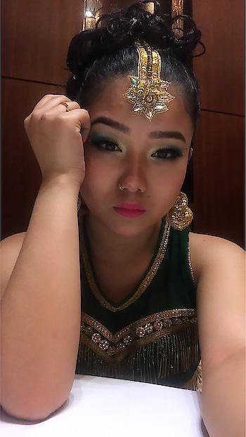 Wear your Attitude ✨✨ #makeuplook #dancelife