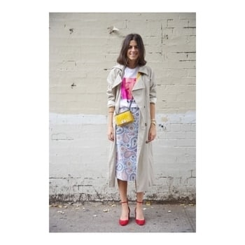 "Not just my fave fashion icon!   Hello peeps, this is Leandra Medine (better known as ""Man Repeller"" in the world of fashion) She is an American author, blogger and humor writer who is best known for her fashion and lifestyle website.  Well the fact that she has a huge following on instagram shows she is not just another blogger but why I love her is because she is like a breath of fresh air in the word of fashion. No loaded make up, very natural looks, saying everything right from her heart, wearing eclectic pieces and making them look like they work (but remember they won't work on everybody as not everybody can look good in everything!) Her sense of fashion is so inspiring that I think she could wear a black trash bag and make it look cool!   Isn't that what fashion and style are about?! Doing things your own way, breaking the norms and showing your Creative genius!  And that's why I say that she is not just my favourite fashion icon but also my favourite creator! ❤️ @manrepeller  @rock_n_shop  #rocknshop #thevisionaries #fashionicon #roposo #fashionblogger #aunaturale   PS: au naturale is in 😉 (why should I end the post without a tip)"