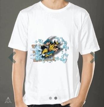 Wolverine 3d print T-shirt Link in bio #wolverine #marvel #fashion #tshirt