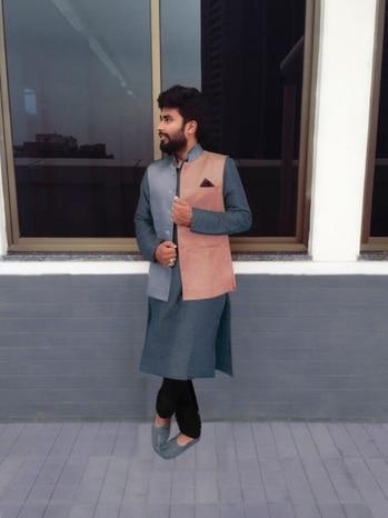 This diwali be color blocks ! #fashion #befashionablethisdiwali #fashionblogger #be-fashionable #men-fashion