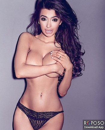 #longhair #boldlips #bold-is-beautiful #sexypose #topless #braless #panty #black #bigboobs #fashionaccesories #hotnavel