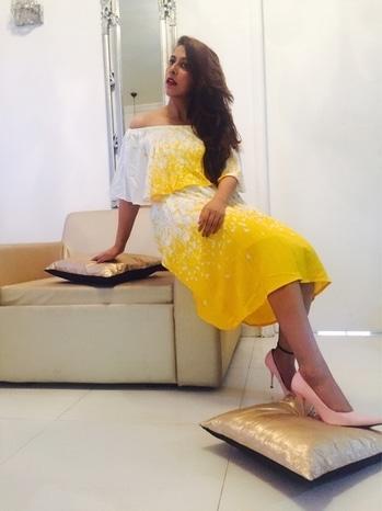 Sunshine baby in this bright yellow and dress from @anitadongre . Photographer- @shrivd_2009  #stylenew #stylish #stylefile #likeforlike #instafashion #fashion #fashionblog #fashionpost #fashionblogger #and #anitdongre #blog #summer #white #yellow #summerstyle #fashionista #casuals