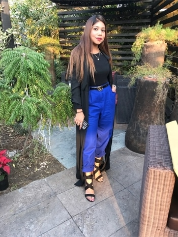 Hello December 🎀 . Had a Great time @jeunesseglobalindiaofficial Launch 😍 . . . . . . . . . . . . #angelmstyle #delhiblogger #socialinfluencer #socialmediainfluencer #hellodecember #swag #happiness #openhair #blackandblue #beauty #popxoblogger #plixxoblogger #zefmomedia
