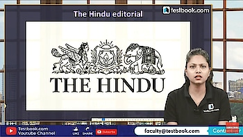 The Hindu Editorial. Follow me on Testbook.com