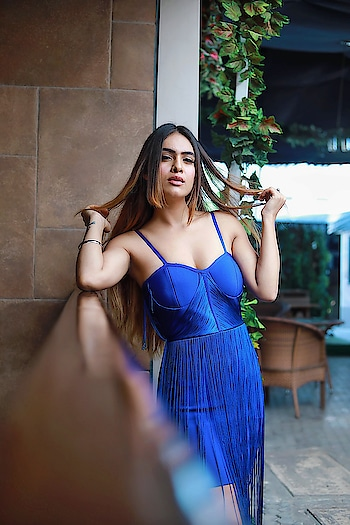 Be with someone who makes you feel Worthy of all the love this world has to give 🥰🥰✌️✌️ : Beautiful blue outfit from @inclosetbypooja 🥰 must follow n chk our their amazing collection 🥰 : #feelingblue #blue is #beautiful #myfav #mylove #boldandbeautiful #bossbabe #beauty #blueoutfit #bluedress #style #fashion #fashionblogger #fashionista #styleblogger #fashionstyle #sexy #lit #moodygrams #mood #goodvibesonly #nehamalik #model #actor #blogger #bloggerstyle #instagood : : Photography @horilhumad  Mua @makeupbyvaish