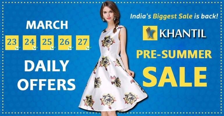 Hurry Up!!!!!!!! Shop Now : https://goo.gl/pWzxRv PreSummer Sale On Khantil. Shop Now To Enjoy Best Offer..... From 23rd March To 27th March  Best Lehngha Choli In Limited Stock.......  #kurti #offer #summerSale #sale #discount #saree #indianWear #ladiesTop #tops #westernWear #lehngha #lehnghacholi #choli #bloues #designer #Summer