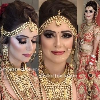 Royal Glittering Bridal #meenakshidutt #meenakshiduttmakeoversdelhi #mua #muaindia #makeupartistindia #makeupartist #makeupindia #bridalmakeup #weddinmakeup #indianbride #indianbridalmakeupartist #indianmakeup #hairandmakeupstudio #makeupacademy