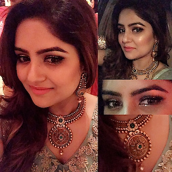 On friend's Brother-in-law Wedding makeup look #makeupbyme #makeupartist #makeuplook #makeupartistindia #makeupartistworldwide #makeupartistlife #lovemywork #lovemakeup #delhi #india #worldwide 💕💕