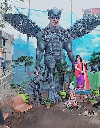 Just wow  #shankarshanmugh  sir you have made a great impact on the society 🙏  #2Point0 #BasantPanchami #2.0 #rajnikanth #amyjackson #shankar