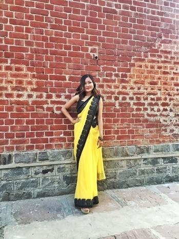 Farewell.  stylingtips#soroposo #roposoblogger #fashionblogger #styleblogger #stylebloggerindia #ootdshare #outfitpost #outfitinspiration  #ootd #fahsionista #likeforlike #mumbai #delhifashionblogger  #roposofashionblogger  #wiwt #whatiwore #streetstyle #delhi #loveyourself #roposogal #roposo #springsummer  #women-fashion #indianblogger