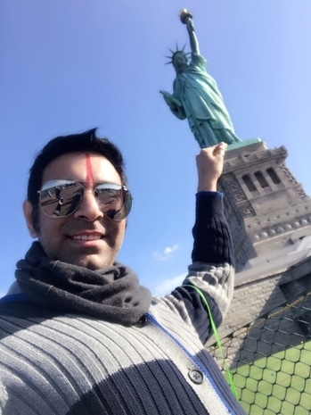 #statueofliberty always seem to #impress n #inspire me.. each time I #visit her ... she fills my #spirit with #freedom .. #liberation... standing firmly in her own #beautiful way she tells me  to #breakthechains of #society mind sets and totally #free myself and at the same time to keep the #torch of dance #education constantly burning.. This #unesco #heritage #site and the #ellisisland have so much to offer that they not only #teach #history but also various #cultures and #values .. they hv a #capacity to bring in total #change ...
