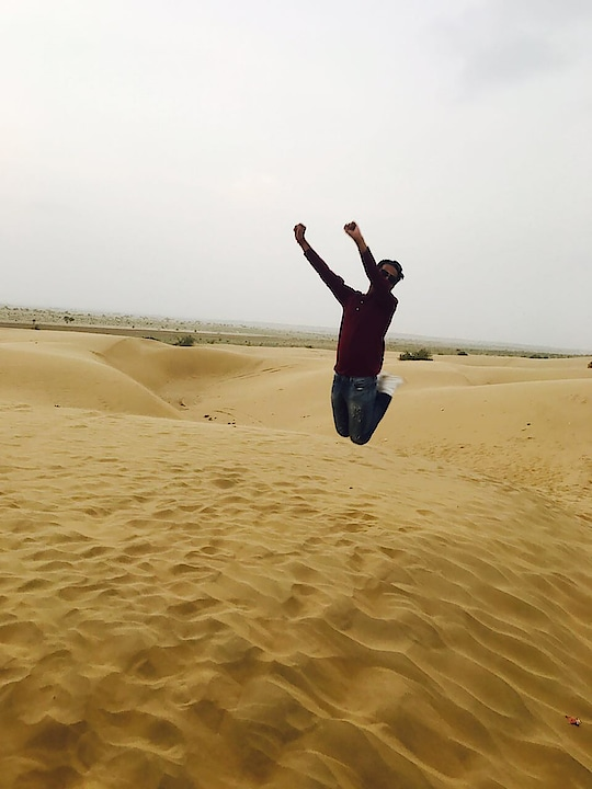 #jaisalmer #sanddunes #fun #amazing #experience