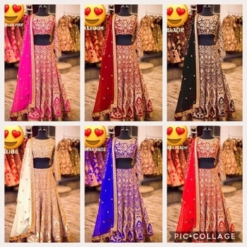 Designer saree available in good quality at svfashion  For more information call or WhatsApp me 9228855494 #designerlehenga