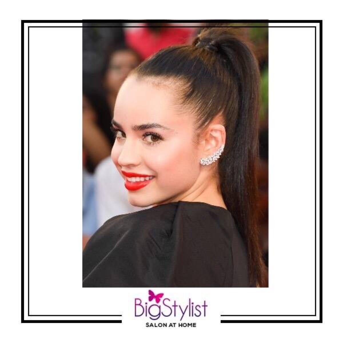 Take a cue from these celeb red carpet moments to upgrade your ponytail from gym rat to stunning style essential with the high pony trend! #highpony #trend #hairtrends #fashion #beauty #look #inspiration #celebritystyle #pretty #love #women #stayhomebeautiful #BigStylist