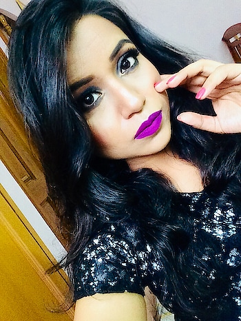 """I usually avoid purple colour lipstick, coZ I always feel that it doesn't suits me .. But went ahead and did this club party makeup look using all high end products and it turned out good 😊 Do check out this look on my channel guys, have used some really good products 😊😊 visit """"RADIANT AFFAIR """" YouTube channel #club #clubmakeup #smokeyeye #hotlook #boldlips #smokeyeyes #partymakeup #makeuplove #makeupjunkie #highend #highendmakeup #brand #indianbeauty #indianvlogger #indianyoutuber #youtuber #youtube #youtubechannel #instafashion #lifestyle #influencer #subscribe #follow #ytcreatorsindia #youtubevideos @youtubers_hub @youtube"""