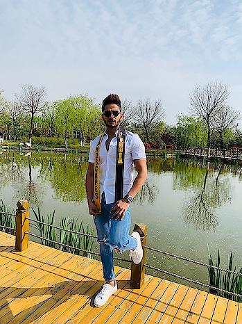 Day 6 at Mister Landscapes International in xi'an China..!🙌🏻 #rubarugroup #rubarumisterindia2018 #misterlandscapesinternational #modelife #bethebest #success #hustle #goals