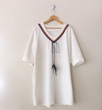 "T-shirt dress Free size Size Xl-XXl Length-36"" Loose fit ₹1050+shipping Dm or whatsapp 9920020908 #fashiondiaries #fashionista #style #styleblogger #lifestyle #ootd #instadaily #instastore #fashionable #fashionblogger #cute #summerwear #mumbai #adderyfashionhouse #keepadding #dresses"