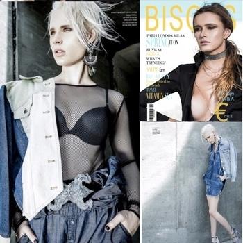 #bisousmagazine #shoot #model wearing #monashroffjewellery #monashroff #earrings #spring2017