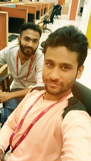 #Officetime#officeselfie#buddy