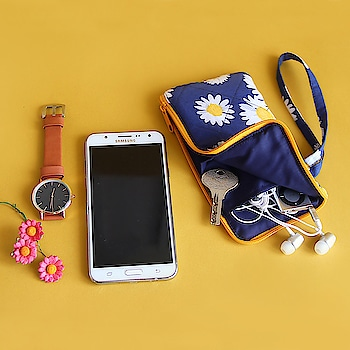 Small, nifty and handy, our cell phone pouch is for women on the go. Strap this pouch in your hand or simply hang it on any bag. Online Shop - www.spruceindia.com  #cellphonepouch #pouch #cellphone #trendy #handy #spruce #spruceindia #madeinindia #onlineshop #shoponline