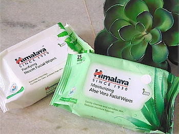 My instant fix to remove dirt & makeup on the go in one swipe by @himalayapersonalcare  Now in two new variants Moisturizing Aloe Vera & Purifying Neem🌿  #WipesOnTheGo #FaceWipes #wipes #facial #himalayapersonalcare #beautyandhealthblog #indianbeautyblogger