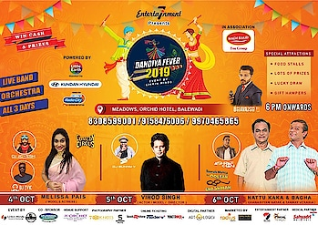 Pune r u excited or no 🤗🤗🤗 4th 5th 6th lets dandiya together let's garba together let's create magic ❤️❤️❤️ cya Pune on the 5th Oct only at Orchid Hotel Balewadi 😍😍 #pune #punedandiya #punedandiyaevent #punedandiyafestival #garba #garbanight #dandiyafever #punenightlife #punetimes #punelife #punedairies