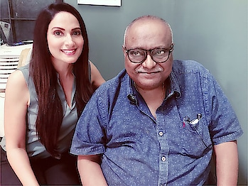 Working with one of my #mostfavourite #director @pradeepsarkar. It's truly a dream come true for me 🥰#feelingblessed #jaswindergardner #actor  #enjoyed #working #with #him #thankgodforeverything 🙏🌺