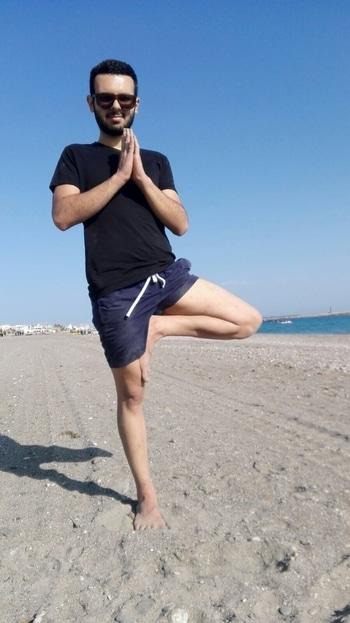 Balance is key #yoga