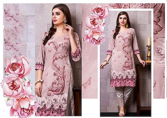 New designer  summer ethnic  collection in floral prints  Shop at :www.WishAlley.com #sunmerwear #summersuits #floralprints #floralsuits #kurtis #ethnicwear #summerkurtis