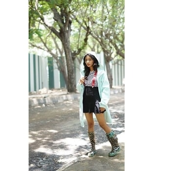 "New post "" MONSOON MADNESS "" is up on the blog .❤️ 📸 - Bhushankumar Jain #lifeofablogger #derniercristyle #monsoonwear  #stripedtee  #raincoat #trenchcoat  #gumboots #wingedeye #mumbaistreetstyle #streetstyle #glambam #styleblog #fashion #style #loveforfashion  #stylistslife #stylistsdiary #lookbook #lookoftheday  #picoftheday #potd  #instapic #instadaily #fashionblogger #styleblogger #stylediary #styledbyme #lifeofablogger"