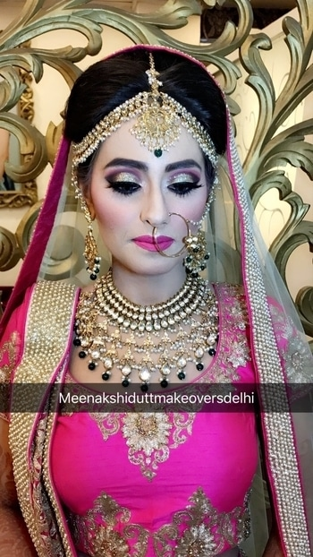 Bridal makeup #meenakshidutt #meenakshiduttmakeoversdelhi #mua #muaindia #makeupartistindia #makeupartistdelhi #makeupartistsworldwide #bridalmakeupartist #indianbride #indainbridalmakeup #bride #bridalmakeup #beautifulbride #weddingmakeup #weddinglook